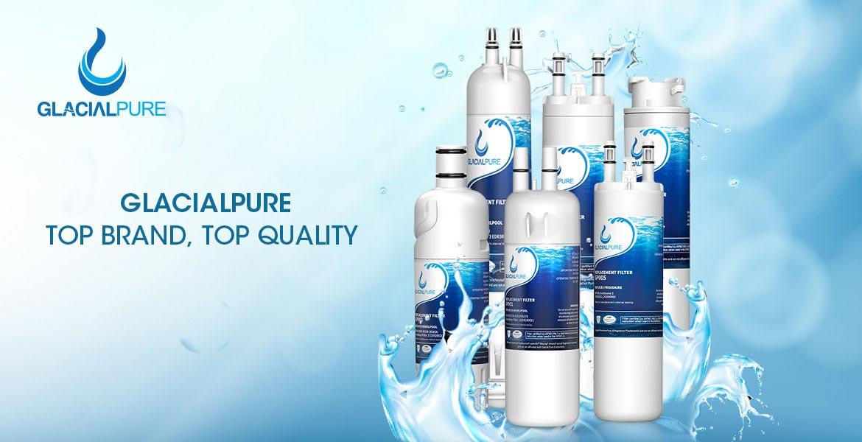 GlacialPure Refrigerator Filters