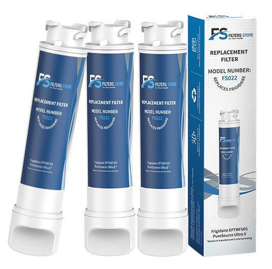 3pk EPTWFU01C Refrigerator Water Filter by Filter Store