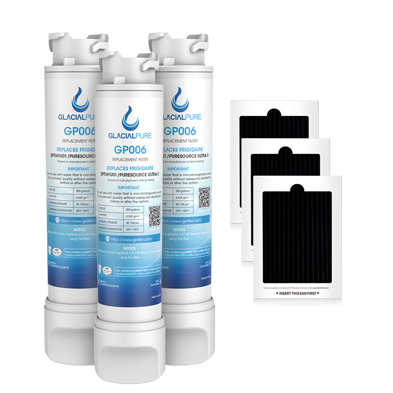 Eptwfu01 Frigidaire Water Filter,3 pack eptwfu01 filter