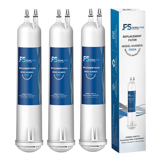 3 pk Filter 3 EDR3RXD1 4396841 Fridge 9083 Water Filter by FS