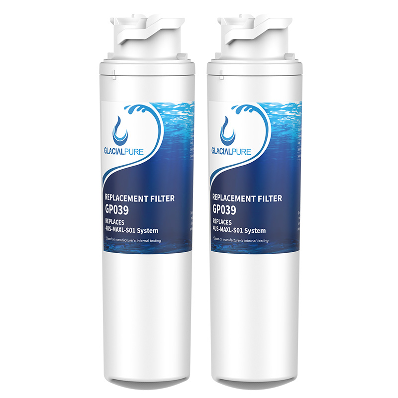 GlacialPure Filters 4US-MAXL-F01 Replacement Filter, 2 Pack